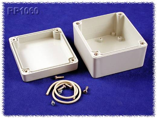 Univerzális műszerdoboz Polikarbonát, szürke 85 x 80 x 55 Hammond Electronics RP1060 1 db