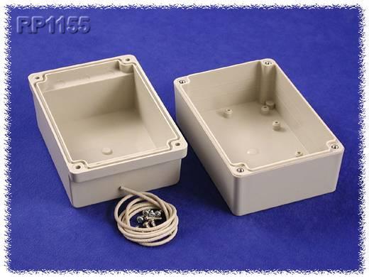 Univerzális műszerdoboz ABS, Polikarbonát, szürke 125 x 85 x 85 Hammond Electronics RP1155C 1 db