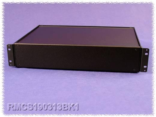 Hammond Electronics alumínium doboz, RMC sorozat RMCS19018BK1 alumínium (H x Sz x Ma) 432 x 203 x 21 mm, fekete