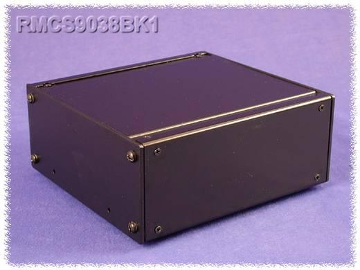 Hammond Electronics alumínium doboz, RMC sorozat RMCV19038BK1 alumínium (H x Sz x Ma) 432 x 203 x 65 mm, fekete