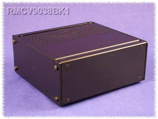 Hammond Electronics alumínium doboz, RMC sorozat RMCV9038BK1 alumínium (H x Sz x Ma) 216 x 203 x 65 mm, fekete