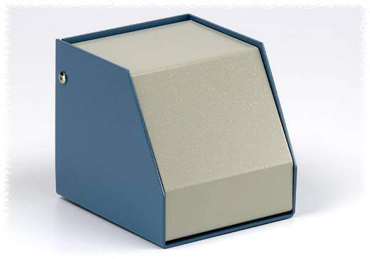 Hammond Electronics műszerdoboz, SCEM251414WH alumínium (H x Sz x Ma) 140 x 254 x 140 mm, kék, szürke