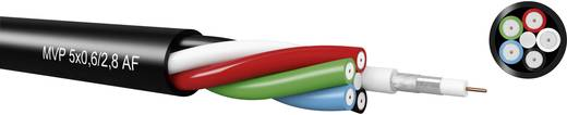 MVF-FRNC & MVP-PVC Multi videókábel fekete méteráru Kabeltronik 740602805