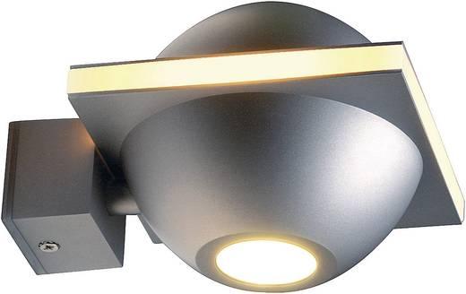 Kültéri fali lámpatest, G9, max. 40 W, 230 V, ezüst, SLV Ufo Beam 151751