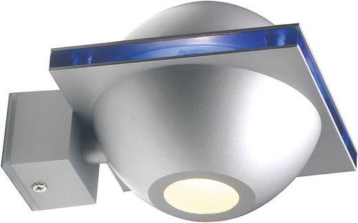 Kültéri fali lámpatest, G9, max. 40 W, 230 V, ezüst, SLV Ufo Beam 151757