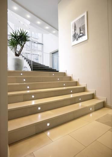 Besüllyeszthető, LED-es lámpatest, 0,3 W, 12 V, rozsdamentes acél, SLV Trail-Lite 227461