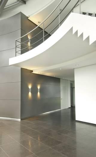 Fali lámpa, 225 mm x 70 mm x 70 mm, 230 V/50 Hz, GU10, max. 2 x 50 W, ezüst-szürke, SLV Theo Wall 152082