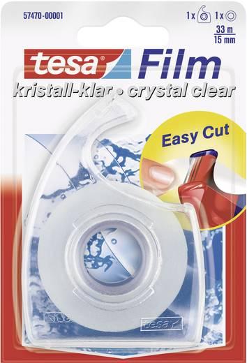 Kristálytiszta ragasztószalag Tesafilm® Crystal Clear 33 m x 15 mm Tesa 57470