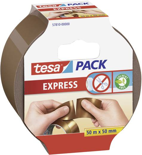 Ragasztószalag Tesapack® Express barna 50 m x 50 mm TESA 57810