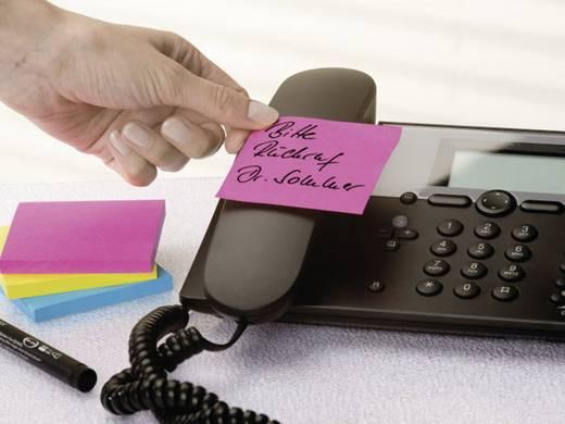 Tesa öntapadó jegyzettömb, jelölőcímke 3db-os készlet sárga, rózsaszín, kék 50 mm x 40 mm TESA 56003-00-00