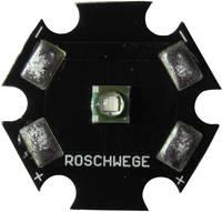 High-Power LED csillag alakú panelhoz 1 W, 1 chip, mély piros, Star-DR660-01-00-00 (Star-DR660-01-00-00) Roschwege