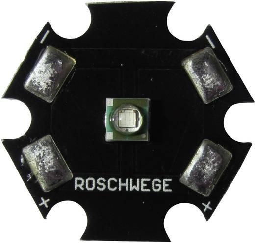 High-Power LED csillag alakú panelhoz 1 W, 1 chip, mély piros, Star-DR660-01-00-00