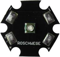 High-Power UV LED csillag alakú panelhoz 405 nm, 1 chip, Star-UV405-03-00-00 Roschwege