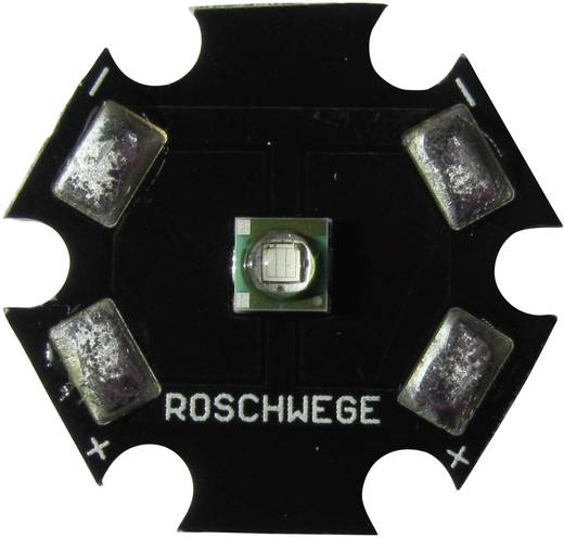 High-Power UV LED csillag alakú panelhoz 405 nm, 1 chip, Star-UV405-03-00-00