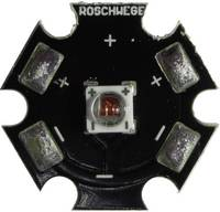 High-Power LED csillag alakú panelhoz 10 W, 4 chip, mély piros, Star-DR660-10-00-00 (Star-DR660-10-00-00) Roschwege