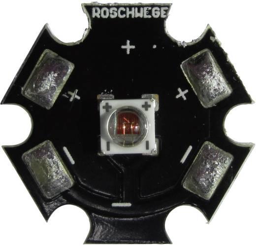 High-Power LED csillag alakú panelhoz 5 W, 1 chip, mély piros, Star-DR660-05-00-00