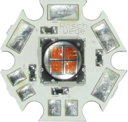 High-Power UV LED csillag alakú panelhoz 395 nm, 4 chip, Star-UV395-10-00-00