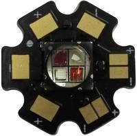 High-Power LED csillag alakú panelhoz 10 W, 4 chip, cseresznyepiros, Star-FR740-10-00-00 (Star-FR740-10-00-00) Roschwege
