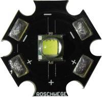 High-Power LED csillag alakú panelhoz 10 W, 220 lm, 1 chip, melegfehér, Star-W2700-10-00-00 (Star-W2700-10-00-00) Roschwege