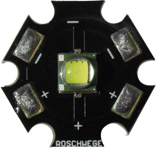 High-Power LED csillag alakú panelhoz 10 W, 220 lm, 1 chip, melegfehér, Star-W2700-10-00-00