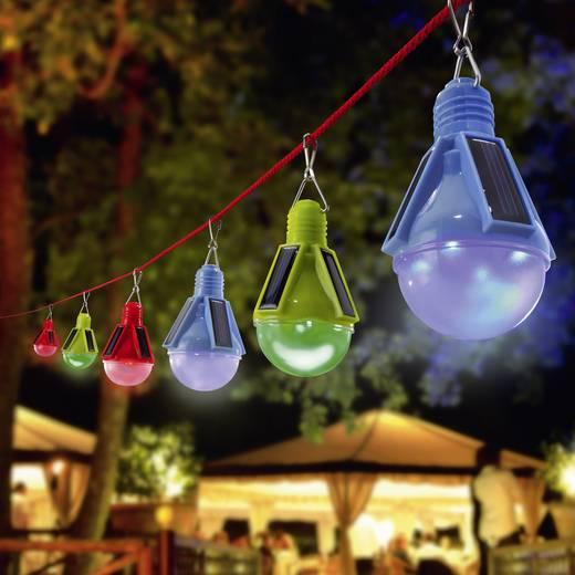 Napelemes parti világítás, 3 részes készlet, IP44, Esotec 102069 RGB