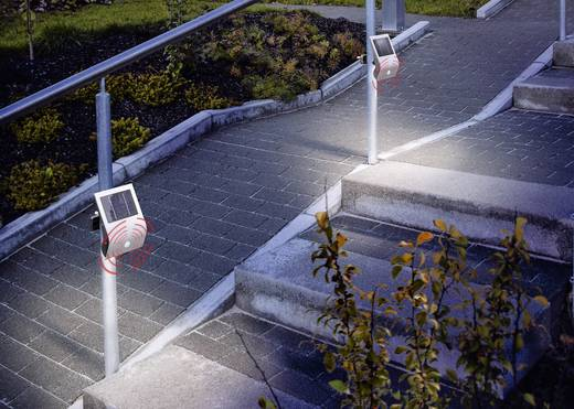 Napelemes fali fénysugárzó mozgásérzékelővel, 3,6 V-os, Flexi Light