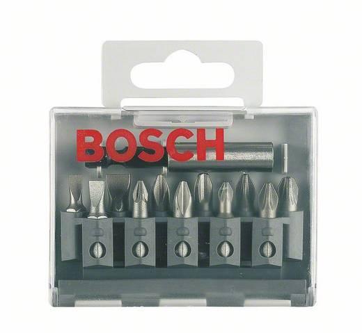 Bosch 2607001923 Csavarozó bit készlet extrakemény (vegyes), 12 részes, Bithossz: 25 mm