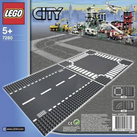 LEGO® City 7280 Egyenes út és kereszteződés