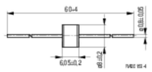 Epcos túlfeszültség levezető, standard fém-kerámia, Ø8x6mm, 5kA, B88069XF20T102 EC90X