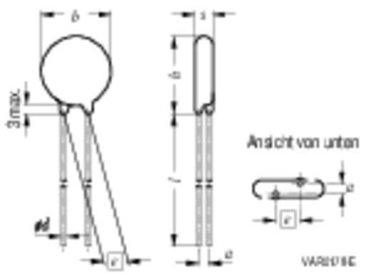 Korong varisztorok S20K130 205 V Epcos B72220S131K101 1 db