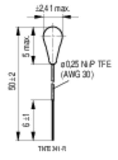 Hőérzékelő, S861/ 5K / 1% / F40