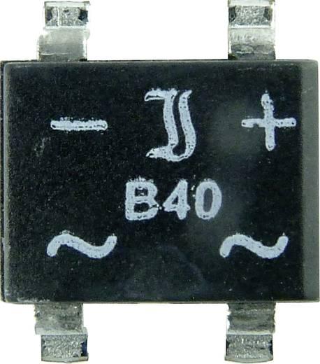 SMD hídegyenirányító 50V/1A=B40S