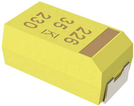 Tantál kondenzátor 15 µF 35 V/DC 10 % (H x Sz x Ma) 7.3 x 4.3 x 2.8 mm Kemet T491D156K035ZT 1 db