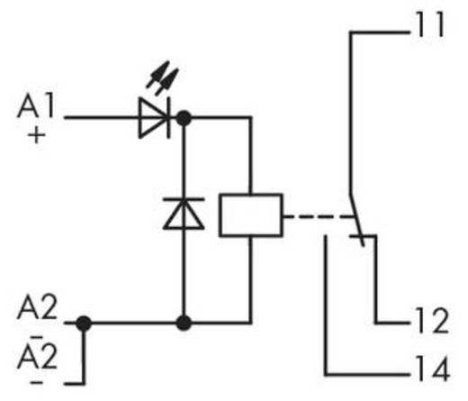 Relé modul 1 váltó, 250 V, WAGO 286-308