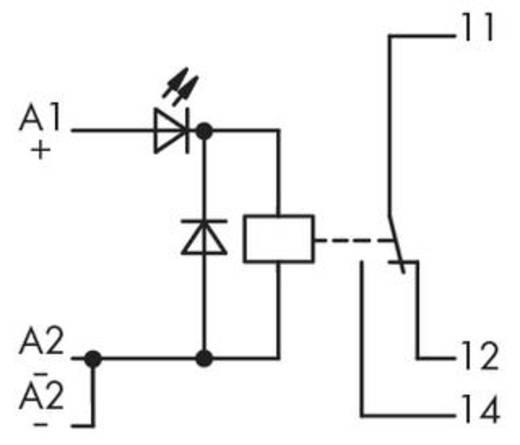 Relé modul 1 váltó, WAGO 286-307
