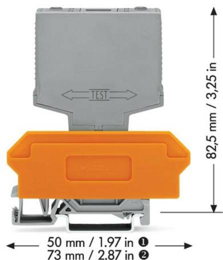 Optocsatoló modul 40 - 250 V/AC, WAGO 286-758