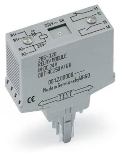 Relé modul 1 nyitó, 1 záró 250 V, WAGO 286-320/004-000