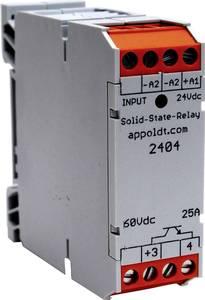 DC/DC teljesítmény optocsatoló, 25 A 60 V/DC, Appoldt POK 22-30V-25Adc (2404) Appoldt