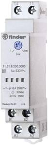 Finder DIN sínes alkonykapcsoló, 230V/AC, 1-100 lux, 1 áramkör, 10.31.8.230.0000 Finder