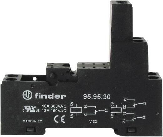 Reléfoglalat, DIN-sínekhez szerelhető Finder 95.83.30