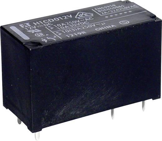 Miniatűr teljesítményrelé, Takamisawa FTR-H1 CD 024 18 - 43,2 V/DC, 300 V/DC, 2500 VA, 10 A, IP67, 1 váltó, AgSnO2