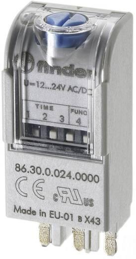 Időkapcsoló modul 12-24 V DC/AC, Finder 86.30.0.024.0000