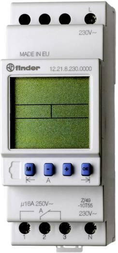 Finder DIN sínes időkapcsolórelé, 2 áramkör, 250V/16A, 12.22.8.230.0000