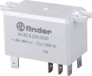Finder 66.82.9.012.0000 Dugaszrelé 12 V/DC 30 A 2 váltó 1 db Finder