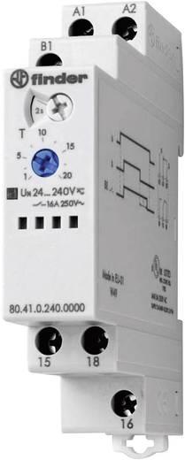 Finder DIN sínes késleltető időkapcsolórelé, 1 áramkör, 400V/16A, 80.41.0.240.0000