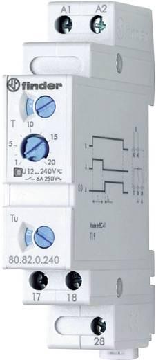 Finder DIN sínes időkapcsolórelé csillag/delta, 1 áramkör, 400V/6A, 80.82.0.240.0000