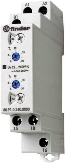 Finder DIN sínes időkapcsolórelé ütemadó-aszimetrikus, 1 áramkör, 400V/16A, 80.91.0.240.0000