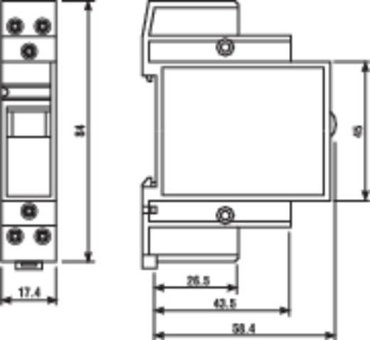 Szerelési jelfogó, 22. sorozat, 1S 1Ö 230VAC