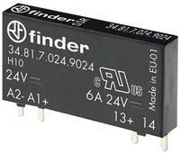 Teljesítmény relé, elektronikus, 34-es sorozat, 24 VDC Finder