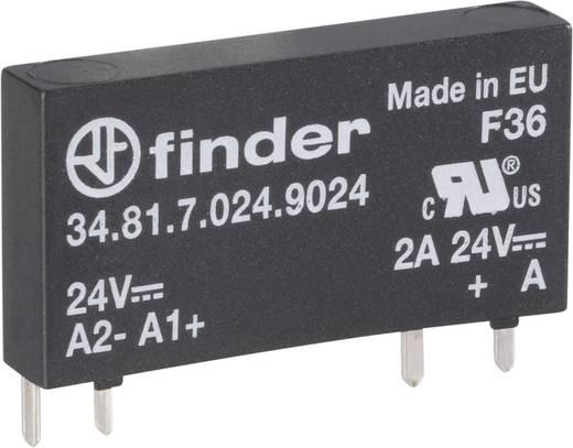 Teljesítmény relé, elektronikus, 34-es sorozat, 24 VDC